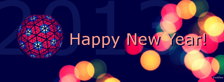 New Years 2013: Facebook Cover by Keitilen on DeviantArt