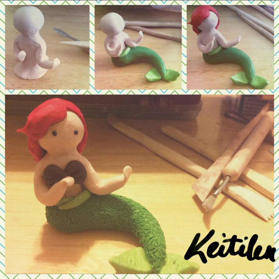 The Little Mermaid - Progression by Keitilen