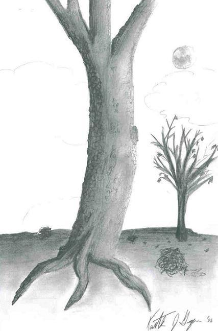 Dry Tree by Keitilen