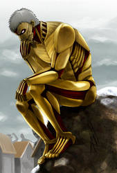 The Thinking Titan by morbidprince