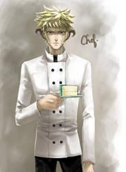 Chef - Mort Cafe by morbidprince