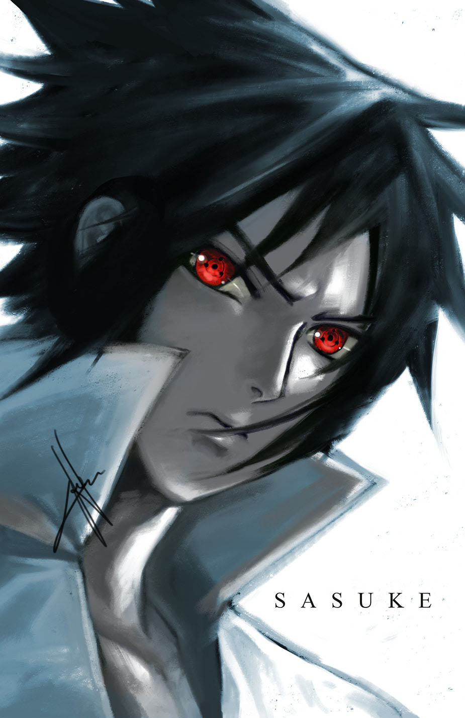 Sharingan Eyes - Sauske by morbidprince