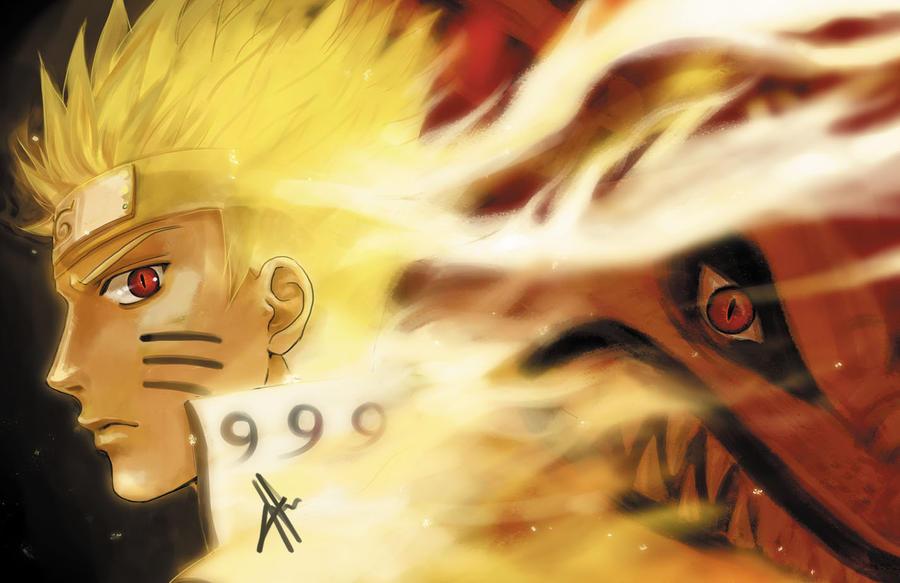 Naruto Demon Fox by morbidprince