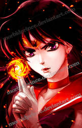 Fire Soul - Sailor Mars by morbidprince