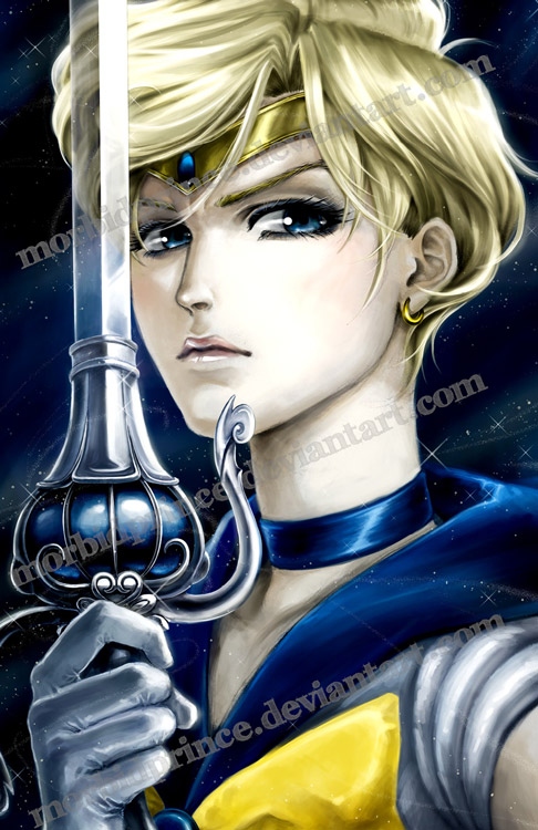 Space/Cosmic Sword - Sailor Uranus by morbidprince
