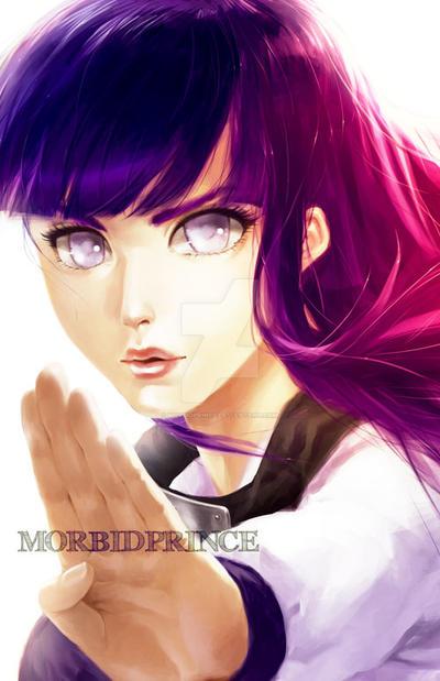 Hinata Hyuga by morbidprince