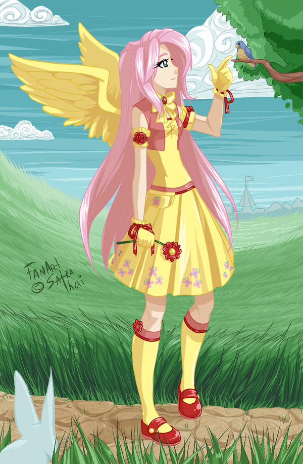 Fluttershy by SatraThai