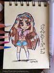 Mignon doodles: Sabine