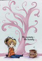 #366 Days of Sketches - 28 - No Money No Honey by SatraThai