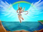 Water Jump Dashie! by SatraThai