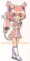 #366 Days of Sketches - 346 - Skitty by SatraThai