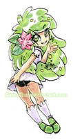 #366 Days of Sketches - 351 - Shaymin by SatraThai
