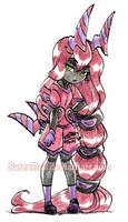 #366 Days of Sketches - 358 - Scolipede by SatraThai