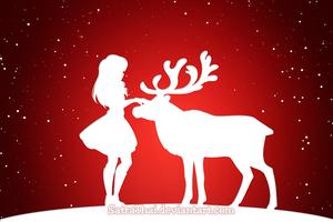 Merry Christmas! - 4/15 - Opuscule/Snow Silhouette by SatraThai