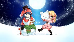 Merry Christmas! - 12/15 - Akishina / Snowcat by SatraThai