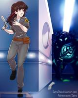 Patreon Reward - Astranacus - Electra Sci-Fi by SatraThai