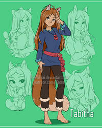Sketchpage - Tabitha by SatraThai