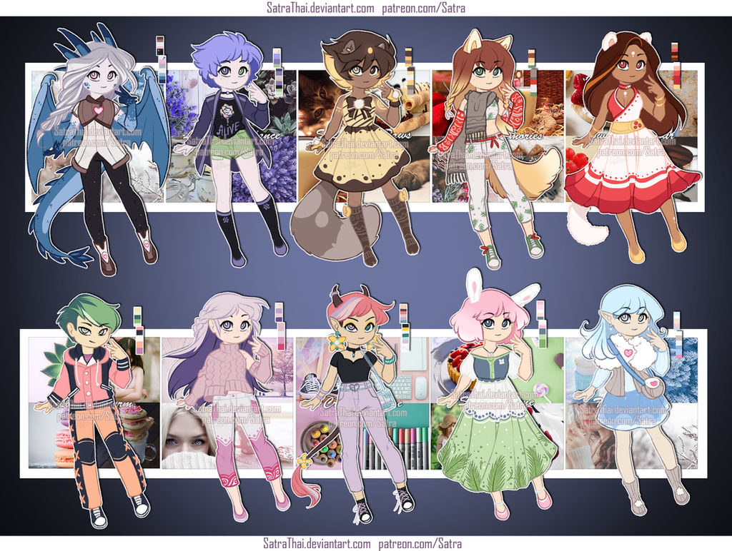 Aesthetic adopts - batch 1