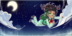 Merry Christmas! - 3/12 - Sadie / Bringing gifts by SatraThai