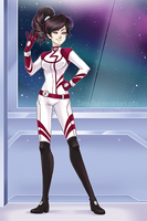 Electra - Sci-fi outfit by SatraThai