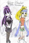 Risa and Rikku-An Odd Pair