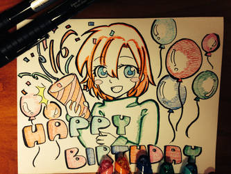 Happy Birthday by Nihaoboy