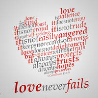Love Never Fails by vanderflue