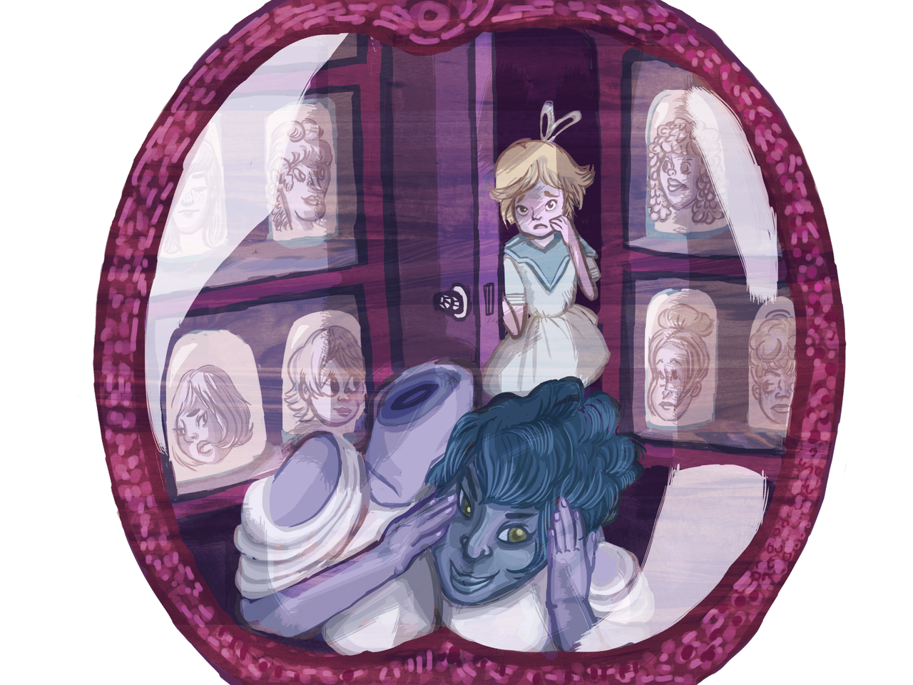 Langwidere's Heads by Einde