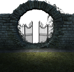 The stone gate by sirocco-rc