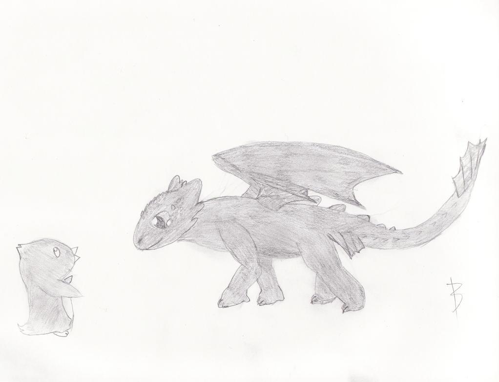 Curious Toothless by xheraldxofxhopex