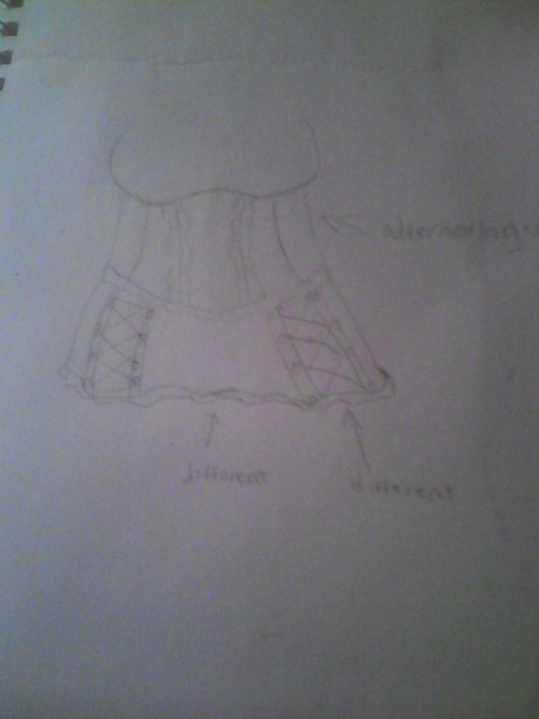 new outfit design. slight Victorian/gothic theme by xheraldxofxhopex