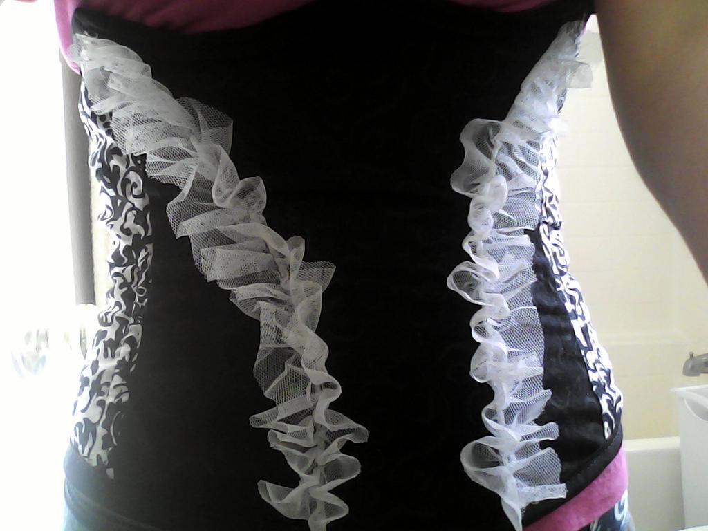 lacey corset by xheraldxofxhopex