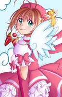 Sakura by Caroline-draws-stuff