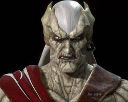 Kain Elder form Sculpt medium close-up