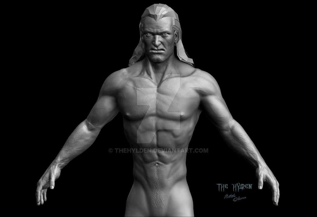 Human-Kain-HD-render-front by TheHylden
