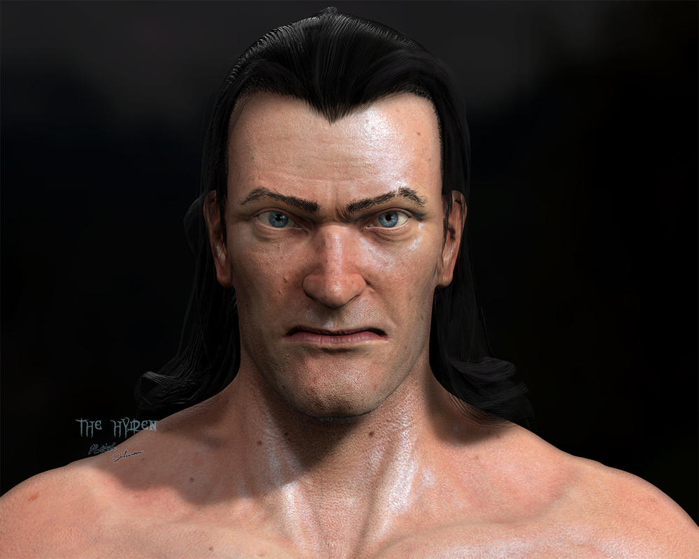 Human Kain Front Chin Reduced by TheHylden