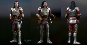 Human Kain: Army of the Last Hope Armor