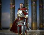 Human Kain: Last Hope Armor with Cloak Medium