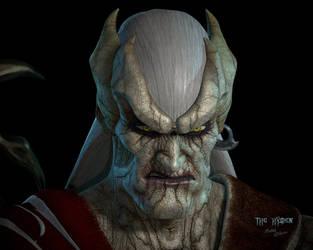 Elder Kain - Glyphx Grimace Recreation by TheHylden