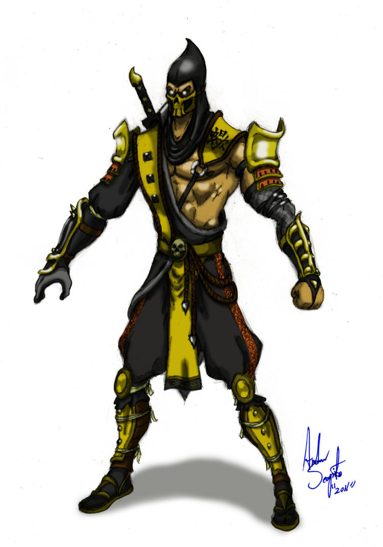 Scorpion alt design by soysaurus1