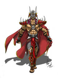 Ominous Emperor Shao Kahn