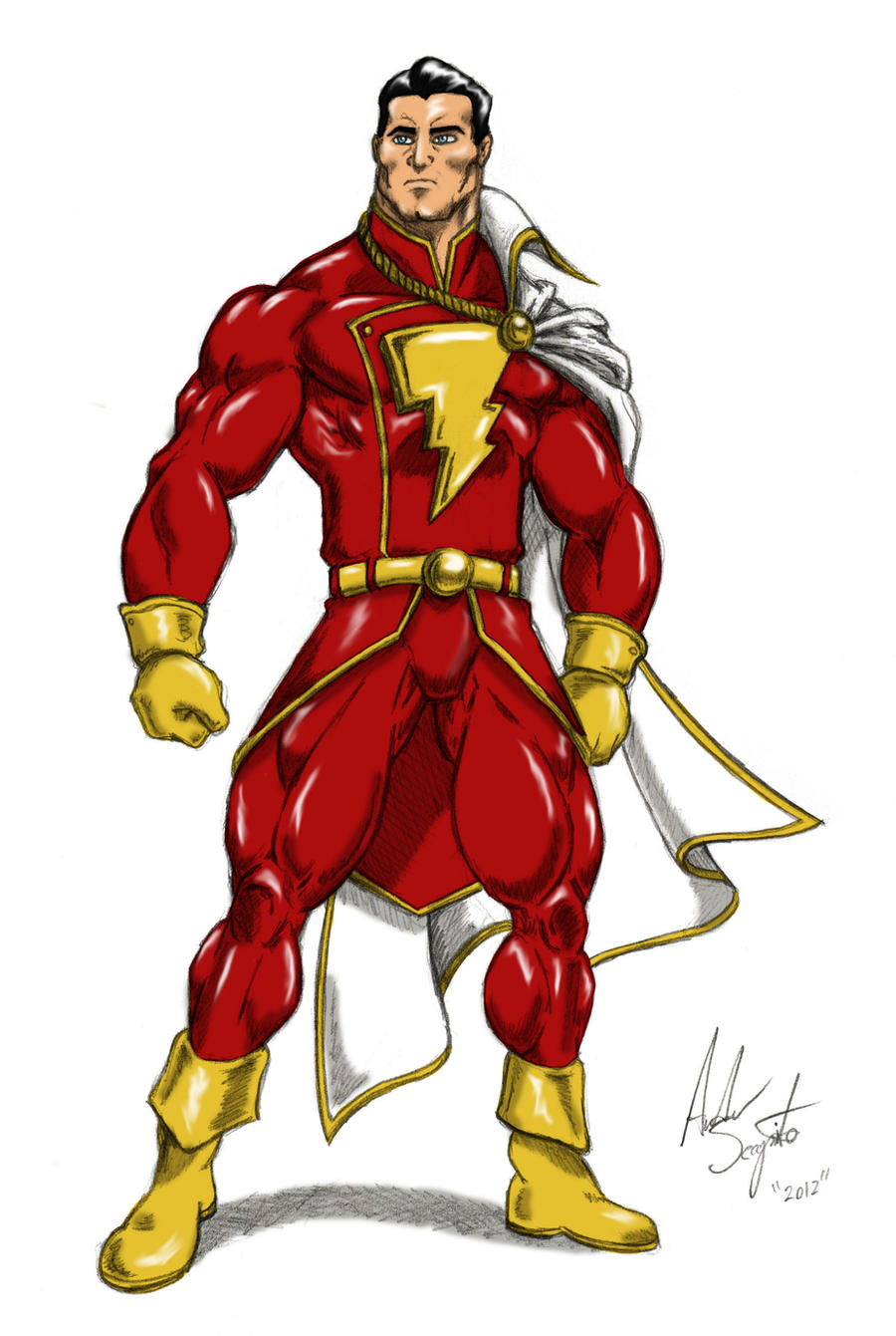 This Is A Much Better Look For Shazam