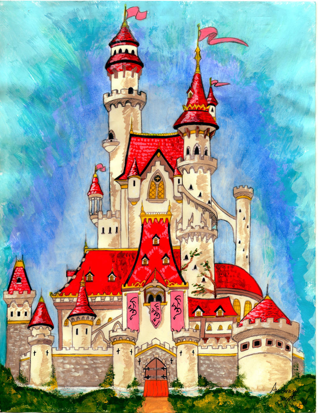 fairy tale castle designsoysaurus1 on deviantart
