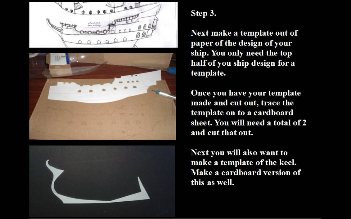 Model ship making step 3 by soysaurus1