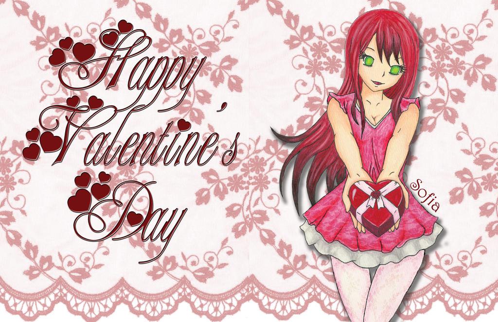 Happy Valentine's Day! by Ashira2112