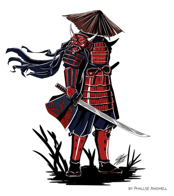 Oni Samurai by PhallseAnghell