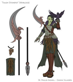 Taugh Stonefist - Warlock