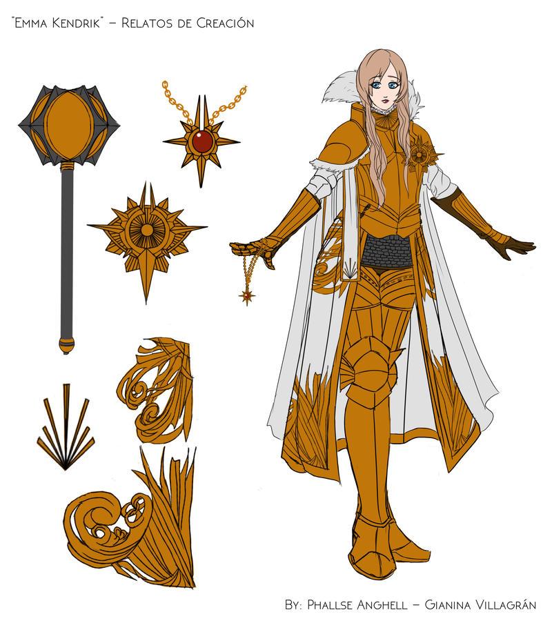 Emma Kendrik - Character Design by PhallseAnghell