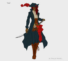 Cain - Pirate by PhallseAnghell