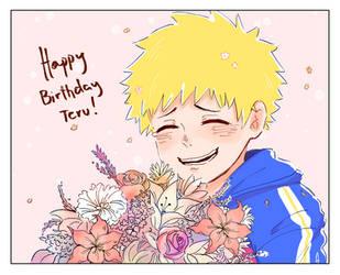 4/13 Happy Birthday Teru!! by TomatoSardinas
